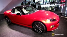 2015 Mazda MX-5 Miata 25th Anniversary Edition at 2014 New York Auto Show