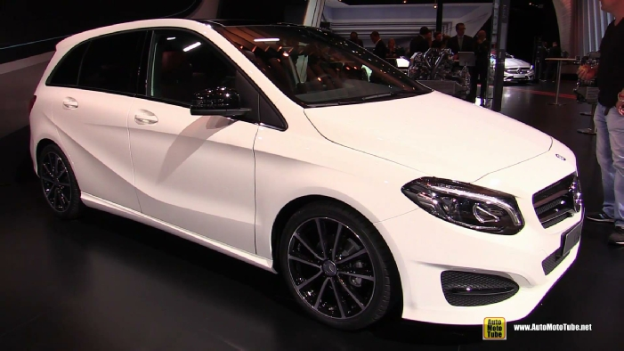2015 mercedes benz b class b180 cdi diesel at 2014 paris. Black Bedroom Furniture Sets. Home Design Ideas