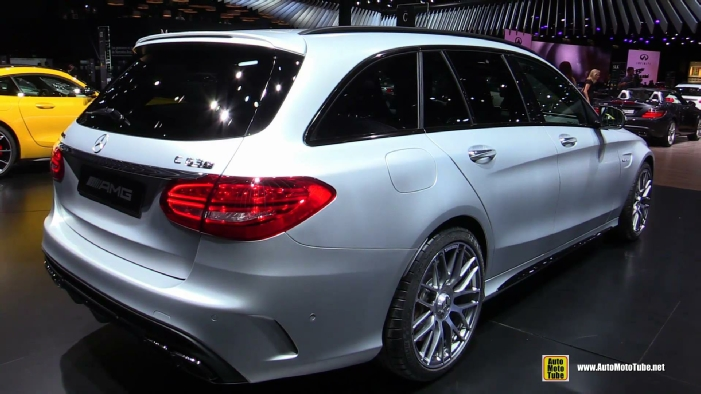 2015 mercedes benz c63 amg c break wagon at 2014 paris auto show. Black Bedroom Furniture Sets. Home Design Ideas