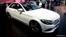 2015 Mercedes-Benz C-Class C250 Bluetec at 2014 Detroit Auto Show