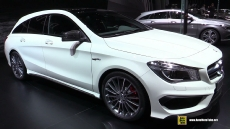 2015 Mercedes-Benz CLA-Class CLA45 AMG Shooting Brake at 2015 Geneva Motor Show