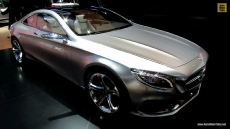 2015 Mercedes-Benz S-Class Coupe at 2014 Detroit Auto Show
