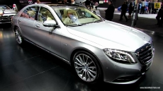 2015 Mercedes-Benz S-Class S600 at 2014 Detroit Auto Show