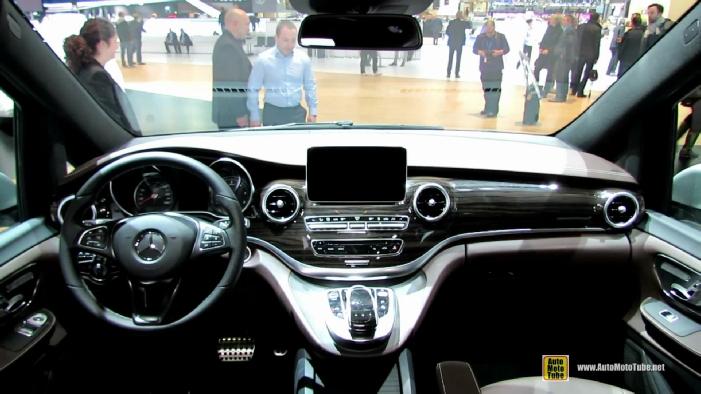 Mercedes Benz Quebec >> 2015 Mercedes-Benz V-Class Van V250 at 2014 Geneva Motor Show