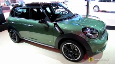 2015 Mini Cooper S Countryman All4 at 2014 New York Auto Show