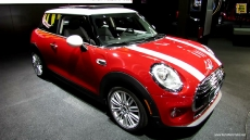 2015 Mini Cooper at 2014 Detroit Auto Show