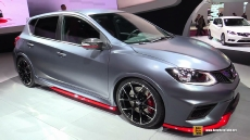 2015 Nissan Pulsar Nismo at 2014 Paris Auto Show