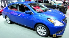 2015 Nissan Versa SL at 2014 New York Auto Show
