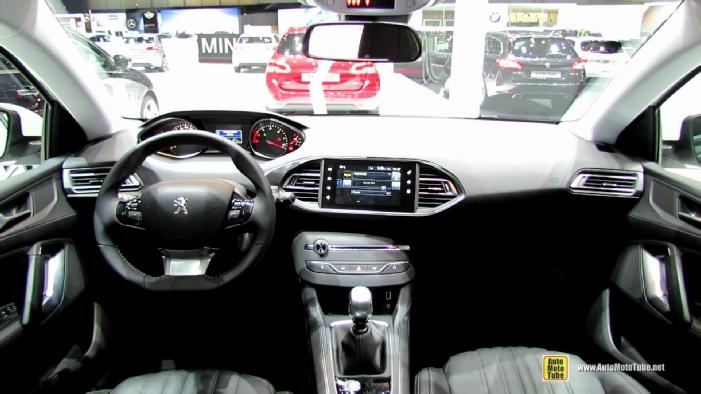 2015 Peugeot 308 SW Diesel at 2014 Geneva Motor Show