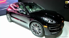 2015 Porsche Macan Turbo at 2013 Los Angeles Auto Show