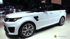 2015 Range Rover Sport SVR at 2014 Los Angeles Auto Show