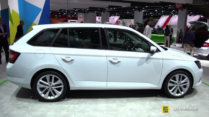 2015 skoda fabia combi at 2014 paris auto show. Black Bedroom Furniture Sets. Home Design Ideas