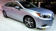 2015 Subaru Legacy 13 at 2014 Chicago Auto Show