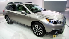 2015 Subaru Outback 3.6R AWD at 2014 New York Auto Show