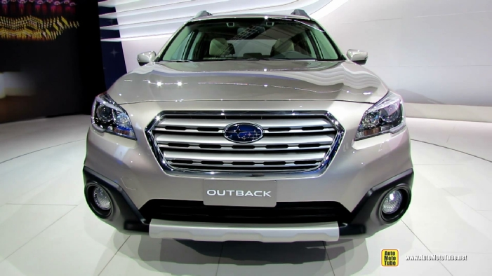 2015 subaru outback 3 6r awd at 2014 new york auto show. Black Bedroom Furniture Sets. Home Design Ideas