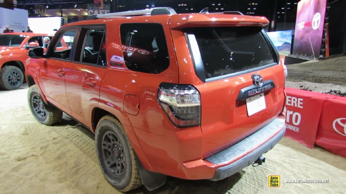 2015 toyota 4runner trd pro at 2014 chicago auto show. Black Bedroom Furniture Sets. Home Design Ideas