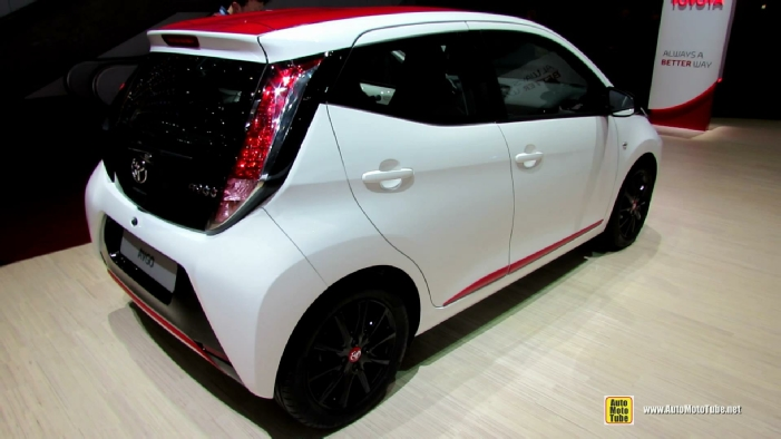 2015 toyota aygo x play at 2014 geneva motor show. Black Bedroom Furniture Sets. Home Design Ideas