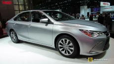2015 Toyota Camry XLE at 2014 New York Auto Show