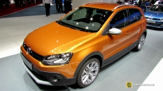 2014 Volkswagen Cross Polo at 2014 Geneva Motor Show
