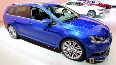 2015 Volkswagen Golf TDI SportWagen at 2014 New York Auto Show