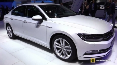 2015 Volkswagen Passat TDI at 2014 Paris Auto Show