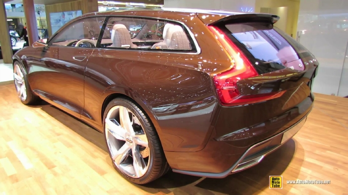 2015 Volvo Estate Concept At 2014 Geneva Motor Show