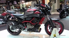 2015 Yamaha MT-07 Moto Cage at 2014 EICMA Milan Motorcycle Exhibition