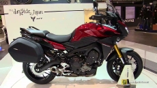 2015 Yamaha MT-09 Tracer at 2014 EICMA Milan Motorcycle Exhibition