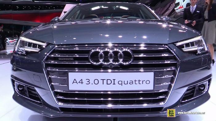 2016 Audi A4 30 Tdi Quattro At 2015 Frankfurt Motor Show