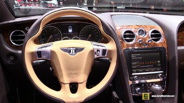 2016 Bentley Continental GT Convertible at 2015 Geneva Motor Show