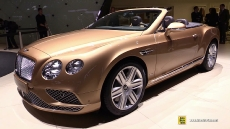 2016 Bentley Continental GT Convertible at 2015 Geneva Motor Show
