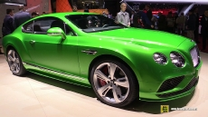 2016 Bentley Continental GT Speed at 2015 Geneva Motor Show