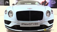 2016 Bentley Continental GT V8S at 2015 Geneva Motor Show