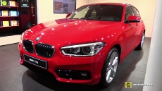 2016 BMW 1-Series 116i at 2015 Geneva Motor Show