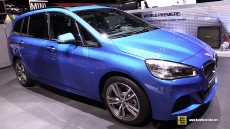 2016 BMW 220i Gran Tourer at 2015 Geneva Motor Show