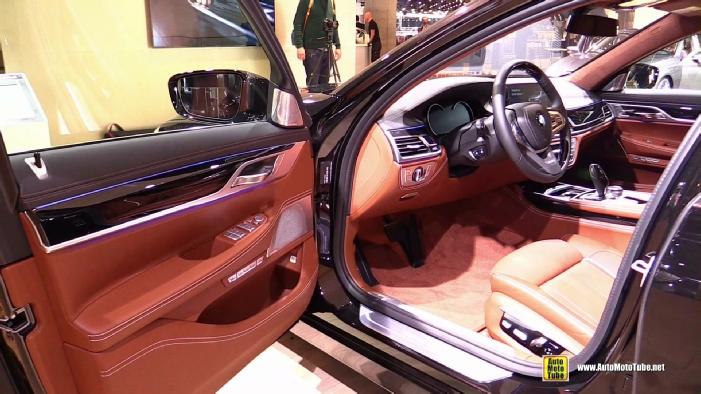 2016 BMW 750Li XDrive At 2015 Frankfurt Motor Show