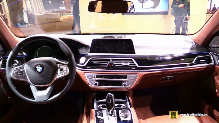 2016 BMW 750Li XDrive At 2015 Frankfurt Motor Show