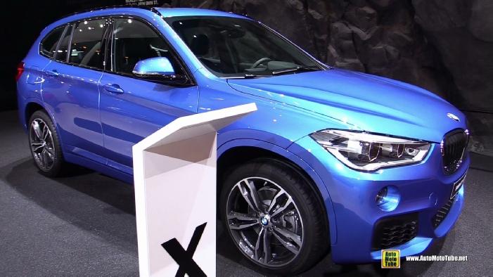 Simple 2016 BMW X1 XDrive 20d M Sport At 2015 Frankfurt Motor Show
