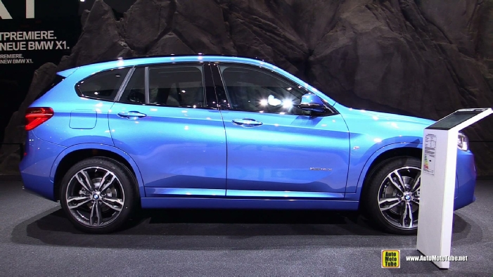 2016 bmw x1 xdrive 20d m sport at 2015 frankfurt motor show. Black Bedroom Furniture Sets. Home Design Ideas