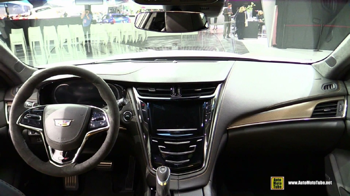 2016 cadillac cts v at 2015 detroit auto show. Black Bedroom Furniture Sets. Home Design Ideas
