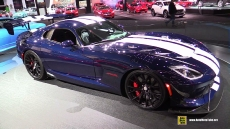 2016 Dodge Viper ACR at 2016 Detroit Auto Show