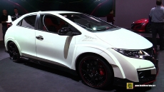 2016 Honda Civic Type R at 2015 Geneva Motor Show