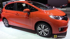 2016 Honda Jazz at 2015 Geneva Motor Show