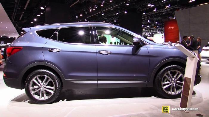 2016 Hyundai Santa Fe 2 2 Crdi Awd At 2015 Frankfurt Motor