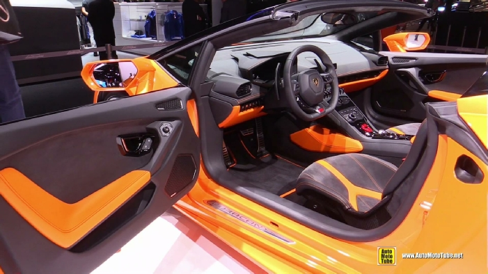 2016 lamborghini huracan lp610 4 spyder at 2015 frankfurt. Black Bedroom Furniture Sets. Home Design Ideas