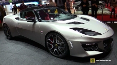 2016 Lotus Evora 400 at 2015 Geneva Motor Show