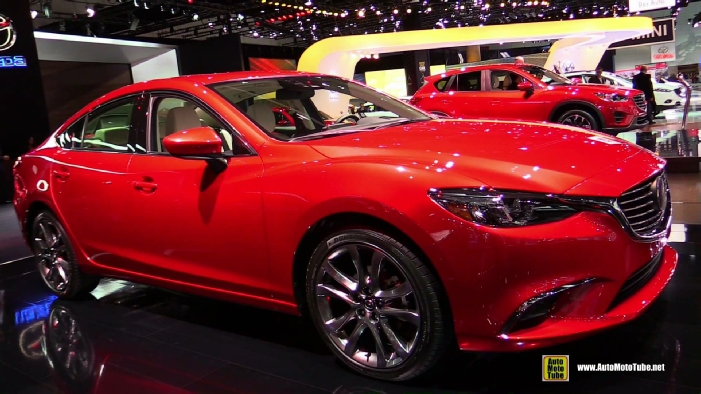 2016 mazda 6 grand touring at 2014 los angeles auto show. Black Bedroom Furniture Sets. Home Design Ideas