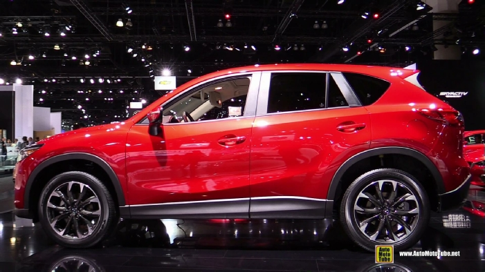 2016 mazda cx 5 grand touring awd at 2014 los angeles auto show. Black Bedroom Furniture Sets. Home Design Ideas
