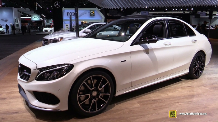 2016 Mercedes Benz C Class C450 Amg 4matic At 2015 Detroit