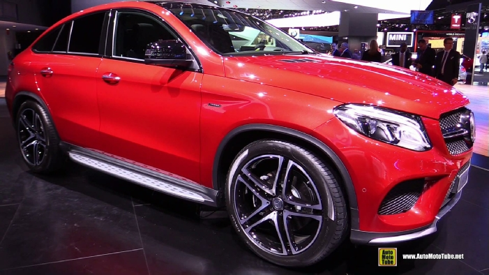 Mercedes Benz Quebec >> 2016 Mercedes-Benz GLE-Class GLE45 AMG Coupe at 2015 Detroit Auto Show